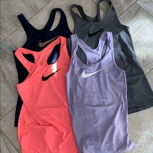 Nike Dri-Fit Sports Tanks Bundle of Four